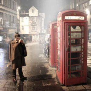 Real Sherlock Holmes Red Telephone Box
