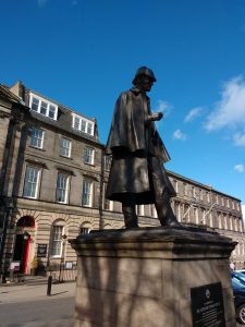 The Sherlock Holmes Statue