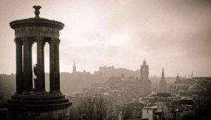 Real Sherlock Calton Hill View