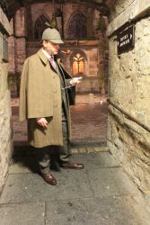 Real Sherlock Holmes Medieval Old Town